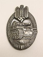 German WWII Tank Assault Badge