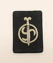 Dutch NSB Collar Tab