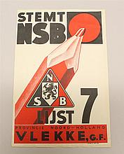 Dutch NSB Voting Flyer