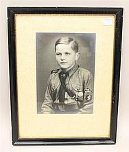 Photograph of Hitler Youth Member