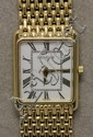 Ladies 14K Yellow Gold Geneve Wrist Watch