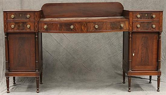 Federal Mahogany Sideboard
