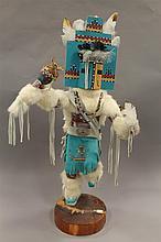 Hemis Kachina doll by Vazzie, Hopi,  32
