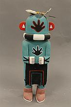 Kachina doll Racer by Clyde Lomayaktewa, Hopi, 11
