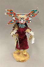 Kachina doll, Palhik Mana by Herbert Sloan, 1984, 15