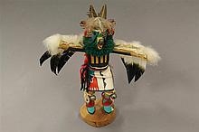 Kachina doll, Eagle Dancer by M.R.L., 11