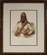 Colored engraving, McKenney & Hall, titled