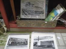 Group of Railroad Ephemera & Black and White Photos