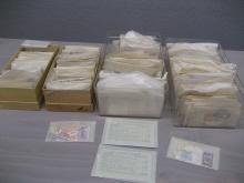 Group of Stock National and International Stamps