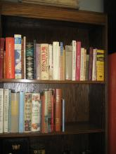 Group of Cookbooks and Gardening
