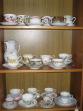 Group of Tea Cups