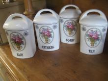 Gerda Pottery Kitchen Canister
