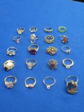 Group of Costumed Jewelry Rings
