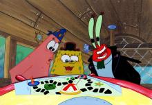 THE VERY BEST EVER SPONGEBOB ANIMATION AUCTION