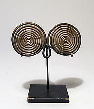 Late Bronze Age double-spiral ornament
