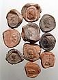 10 Roman terracotta bullae, Ex Royal Athena