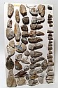 Lot of 45 European stone age tools