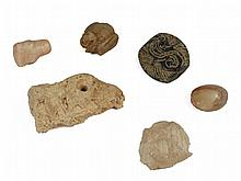 6 Western Asiatic small stone items