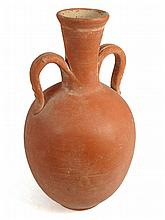A Roman orange-ware bottle, North Africa
