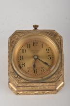 Tiffany desk clock in the
