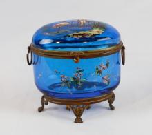 19th C. Royal Vienna Hand Painted Porcelain Vase