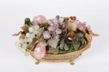 Jade & Agate & Crystal Fruit Bowl