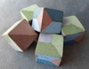 Geometric Painted Cubes