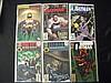 Lot of 6 Batman Comic Books