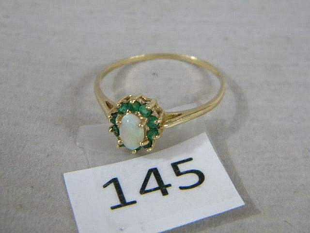 10K Gold Ladies Ring Size 10