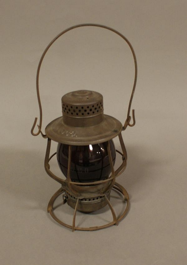 RAILROAD LANTERN B & O RAILROAD CASEY RCG CAPITOL DOME SINGLE RING