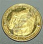 VENEZUELLA GOLD COIN, COMMEMORATING THE FOUNDING OF CORACAS 1567-1967