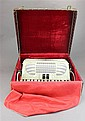 GEORGE RIDDLE ACCORDION WITH MOTHER OF PEARL FINISH