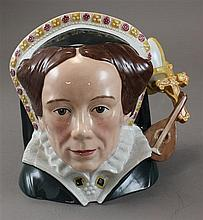 ROYAL DOULTON LARGE CHARACTER JUG,