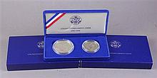 THREE 1986 US LIBERTY COIN SETS