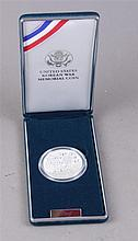 US 1991 KOREAN WAR MEMORIAL SILVER DOLLAR