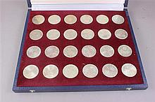 1972 MUNICH OLYMPIC SET WITH 24 SILVER COINS