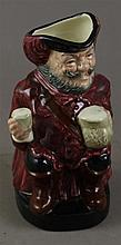 ROYAL DOULTON CHARACTER PITCHER