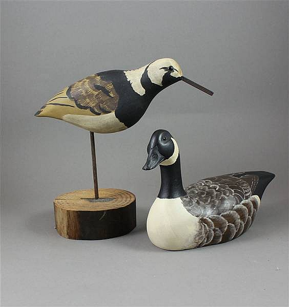 (2) DONNA TONELLI BIRDS INCLUDING CANADA GOOSE AND RUDDY TURNSTONE, 8