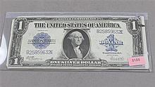 SERIES 1923 U.S. $1 SILVER CERTIFICATE, LARGE NOTE