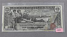 SERIES 1896 U.S. $1 SILVER CERTIFICATE, LARGE NOTE