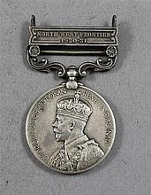 INDIA NORTHWEST FRONTIERS BRITISH 1930-31 MEDAL