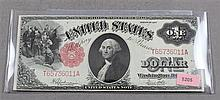 SERIES 1917 U.S. $1 LARGE NOTE