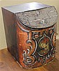 ANTIQUE DECORATED BISCUIT TIN