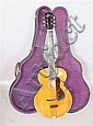 THE GIBSON 6 STRING GUITAR, STYLE 24 WITH ORIGINAL LABEL AND CASE, 39L