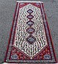 PERSIAN ABADEH SHIRAZ RUNNER, 2.7 X 6.6