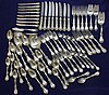 64 PC REED & BARTON STERLING SILVER FLATWARE SET