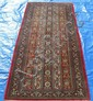FINE PERSIAN QUM, SIGNED RUNNER, 2.9 X 6.5 ~