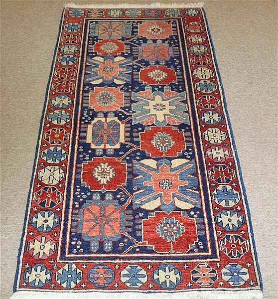 TURKISH AZARI RUNNER, 2.5 X 5.6 ~