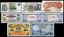 English, Irish,and Scottish Bank Notes. 1948-1975.