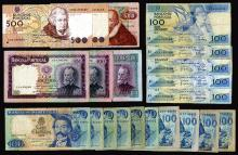 Banco de Portugal, 1957-1992 Issues, Lot of 20 Notes